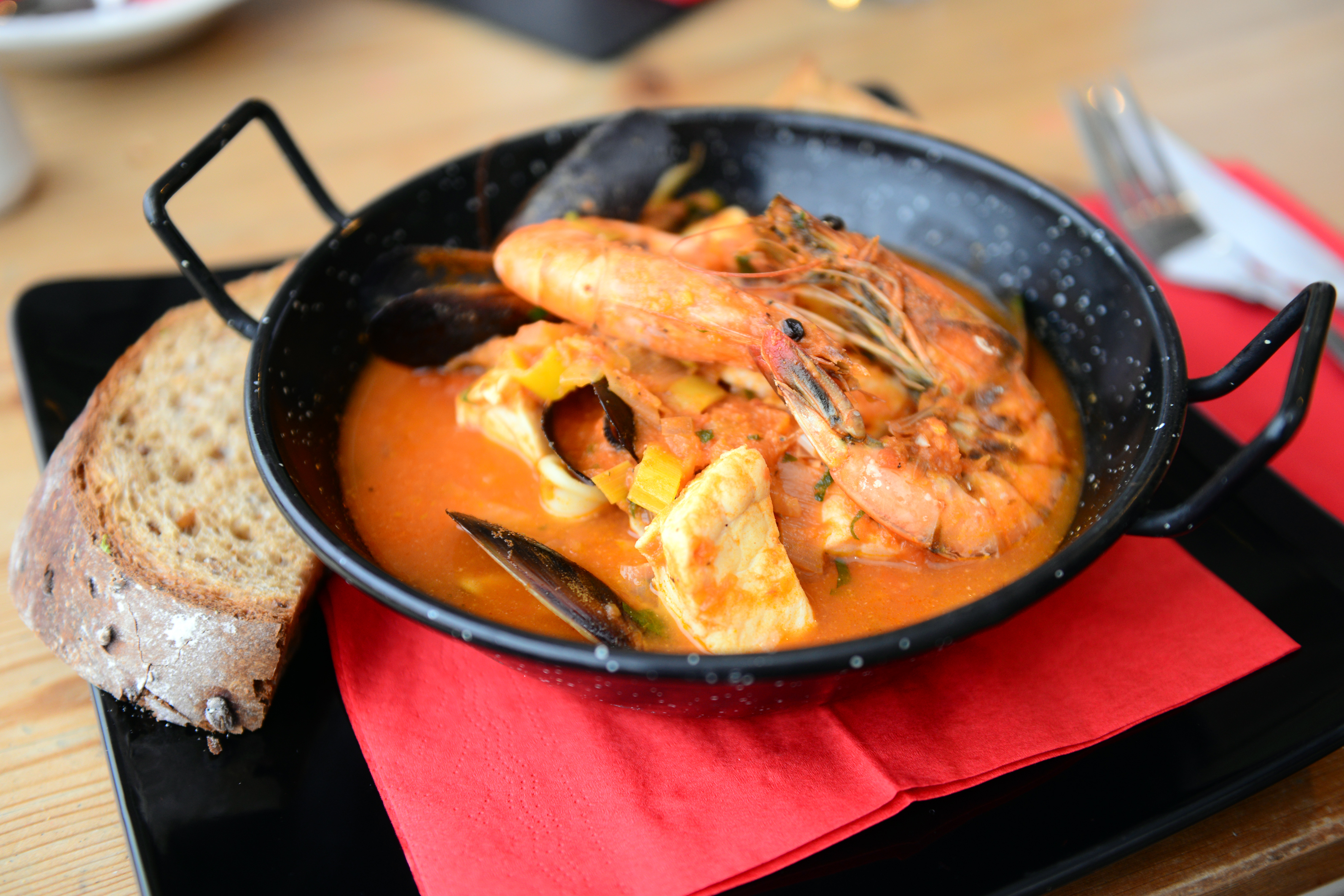 Totland Bay - The Waterfront - Living - Brodetto Fish Stew